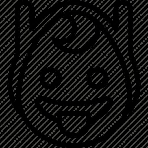 cheeky, emojis, emotion, face, finn, smiley, tongue icon