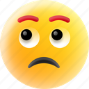 emoticon, expressionless face, silence, speechless, voiceless