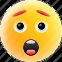blushing emoji, emoji, happy face, laughing, smiley