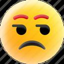 emoji, emoticons, smiley, smirking face, surprised