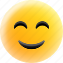 happy, emoji, face, emoticon