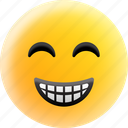 smile, emoji, happy, emotion
