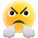 angry, annoyed, emoji, frowning face, worried