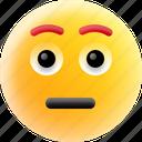 depressed, emoji, frowning face, sad emoji, unamused face