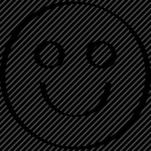 big, emoji, huge, smile icon