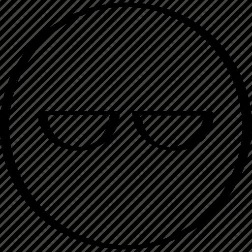 boring, emotion, expression icon