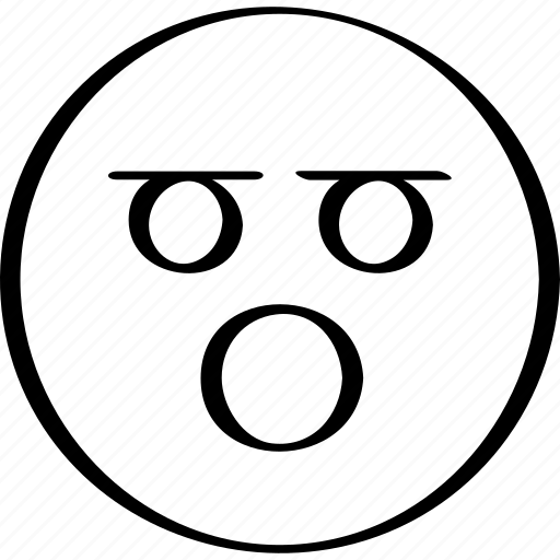 emoji, expressed, expression, face icon