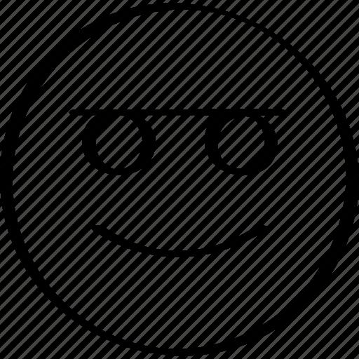 emoji, expression, face, happy icon