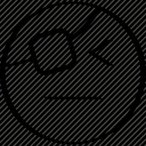 emoji, expression, face, pirate icon
