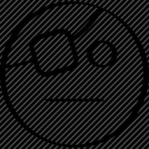 emoji, emotion, expression, pirate icon