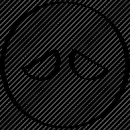 emoji, expression, face, sad icon