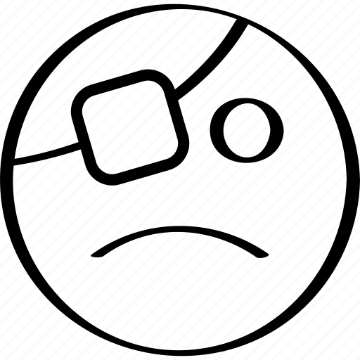 emoji, emotion, expression, sadness icon