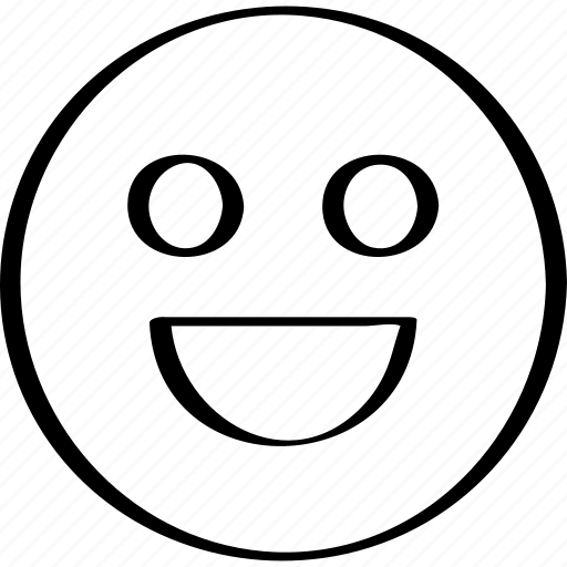 big, expression, smile icon