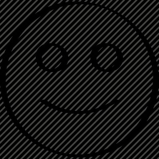 emoji, emotion, expression, smile icon