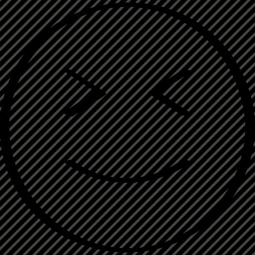emoji, face, happy, winking icon