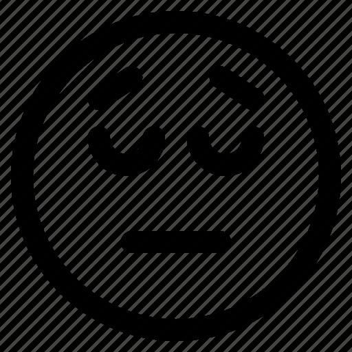 disappointed, emoji, emoticon, emoticons, react icon