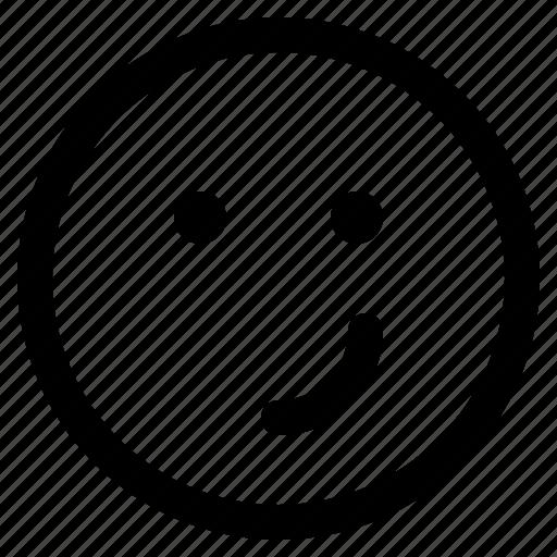 emoji, emoticon, emoticons, friendly, react icon