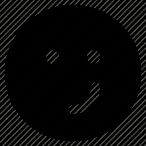 Emoticon, react, emoticons, friendly, emoji icon