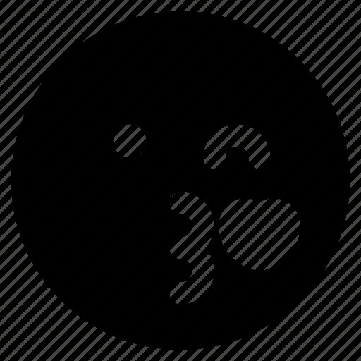 emoji, emoticon, emoticons, in, love, react icon