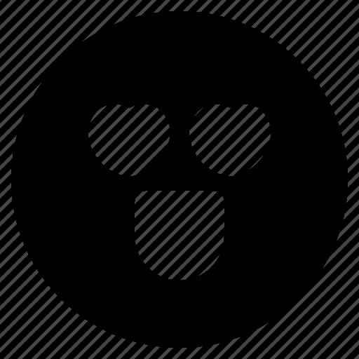 Emoticon, emoticons, love, react, in, emoji icon