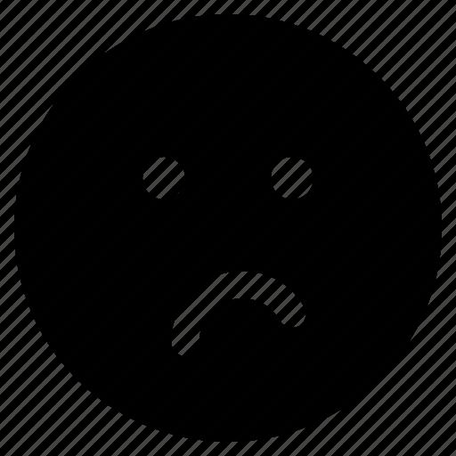 emoji, emoticon, emoticons, indifferent, react icon