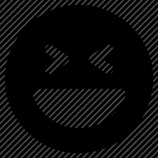Emoticon, react, emoticons, laughing, emoji icon