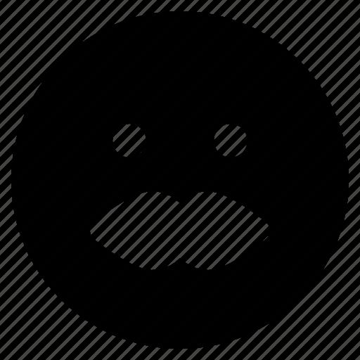 emoji, emoticon, emoticons, moustache, react icon