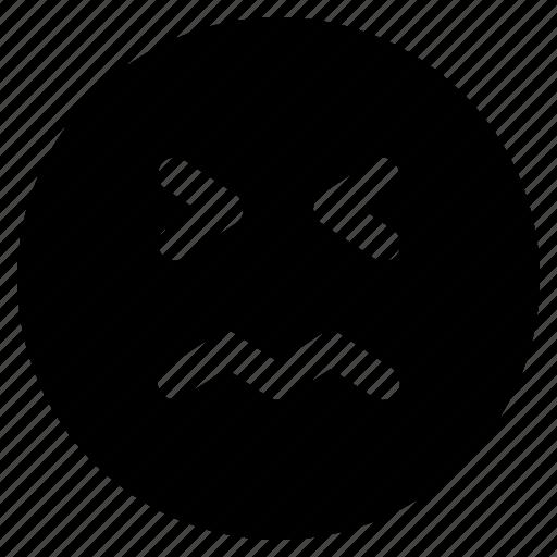 Emoticon, react, emoticons, scared, emoji icon
