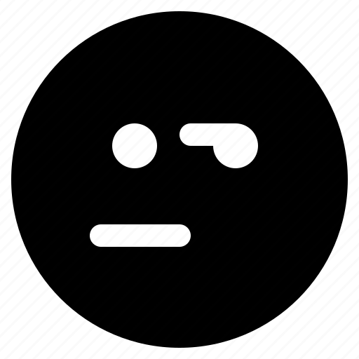 emoji, emoticon, emoticons, react, suspect icon