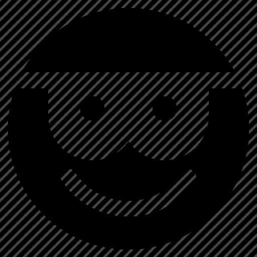 emoji, emoticon, emoticons, nerd, react icon