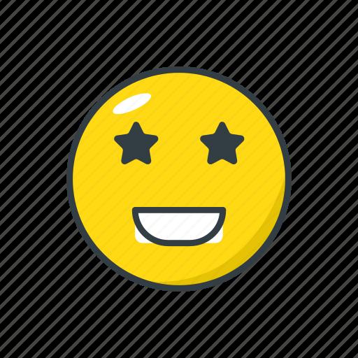 cool, emoji, emoticon, face, smile icon