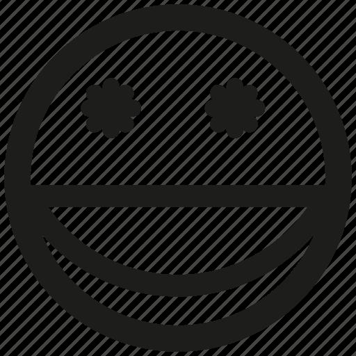 emoticon, emotion, face, mood, smile, wink icon