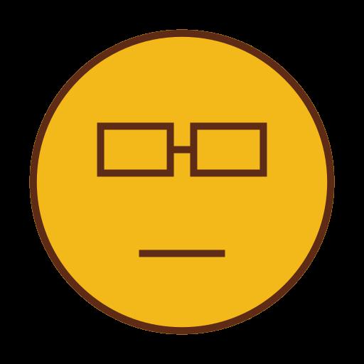 emoji, emoticon, face, smart, smiley icon