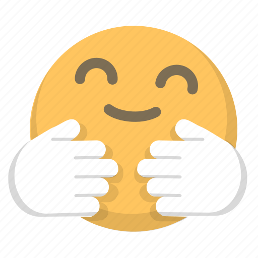 comfort, emoji, hug, love, warmth icon