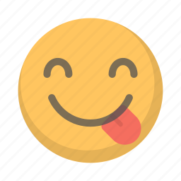 emoji, face, out, silly, toungue icon