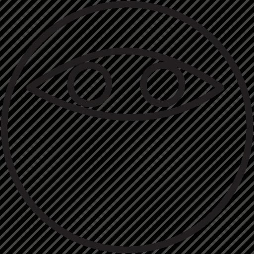 emoticon, ninja, quick, quiet, secret, stealth icon