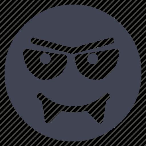 emoji, emoticon, evil, halloween, scary, smiley icon