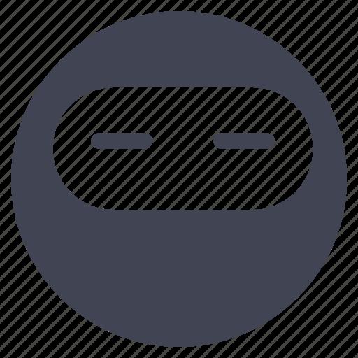 avatar, emoticon, emotion, face, ninja, smiley icon