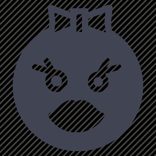 emoji, emoticon, emotion, face, smiley, sweet icon