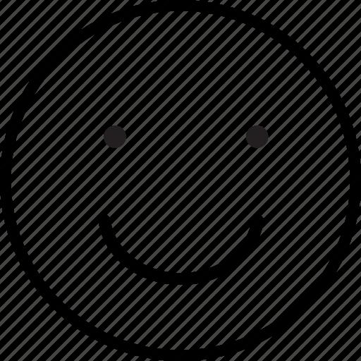 emoji, emoticon, happiness, happy, smile icon