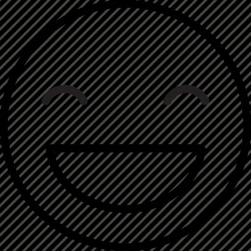 emoji, emoticon, happiness, happy, smile, smiling, sweet icon
