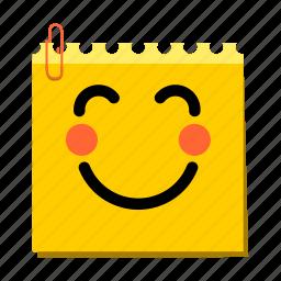 emoticon, joyful, label, stickers icon