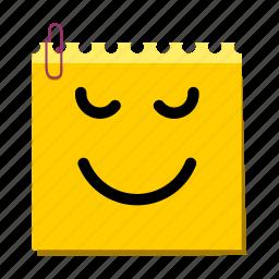 emoticon, label, proud, stickers icon