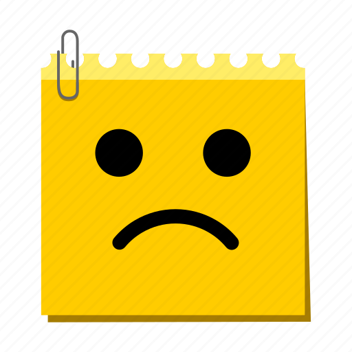 emoticon, label, sad, stickers, wronged icon