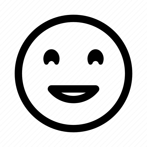 emoticon, face, funny, laughing, smileys, smiling icon