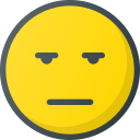 bored, emoji, emote, emoticon, emoticons icon