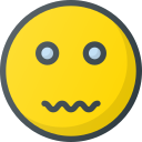 emoji, emote, emoticon, emoticons, nervous icon