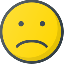 emoji, emote, emoticon, emoticons, sad icon