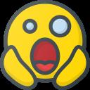 emoticon, emoticons, death, scared, emote, to, emoji