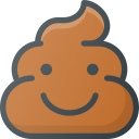 emoji, emote, emoticon, emoticons, poo, smiling icon